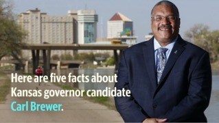 Here are five facts you should know about Kansas gov. candidate Carl Brewer