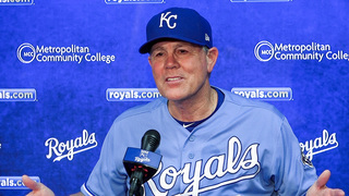 Royals' manager Ned Yost has to work at staying upbeat