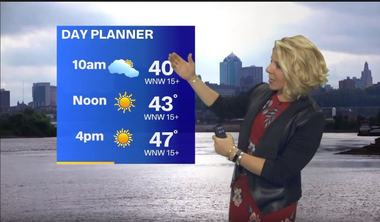 Cool temperatures will continue with an overnight freeze, but warmer weather later
