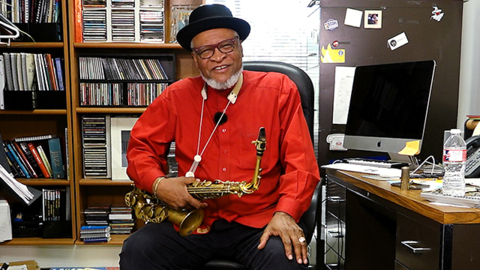 What's on my desk: KC jazz musician Bobby Watson's desk keeps him close to his music