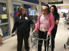 Walking on life support