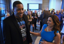 KU great Mario Chalmers in Kansas City for his downtown mural reveal