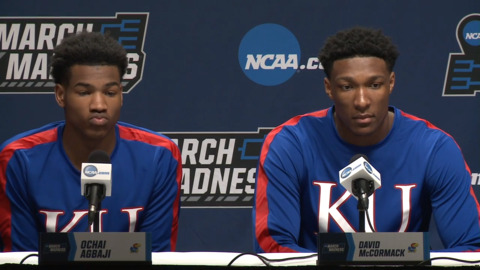 High altitude a bit of a challenge as KU prepares for NCAA opener, Ochai Agbaji says