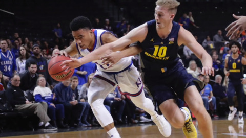 Watch highlights of 22-year-old Bill Self's Senior Night game against KU