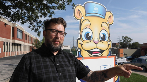 Bear with us: KCQ gets to know the animal on those Children's Mercy Hospital signs