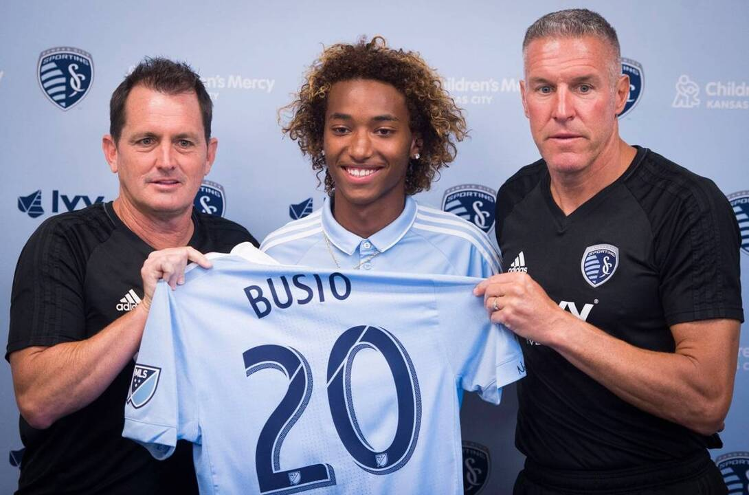 Sporting KC's Gianluca Busio realizes dream, preps for U.S. duty in U-17 World Cup