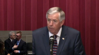 Parson addresses Missouri legislature as governor for the first time