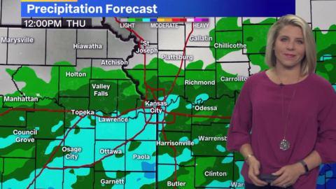 Rain returns to Kansas City area mid-week, followed by colder temperatures