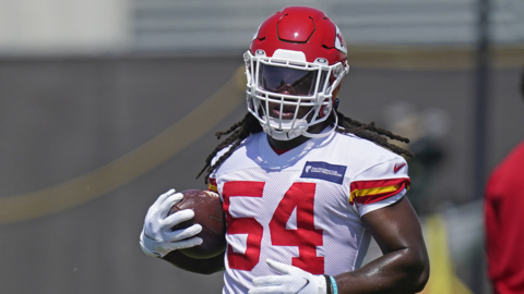 Chiefs rookie LB Nick Bolton on first training camp