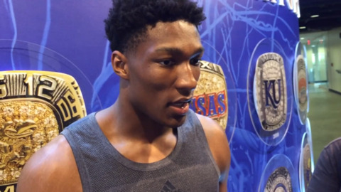 KU's David McCormack on how he's improved this summer