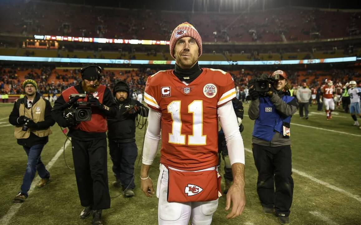 dd3432f6898 Was playoff loss Alex Smith's last stand with Chiefs? | The Kansas City Star