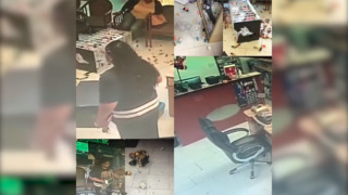 Woman is seen vandalizing nail salon in Hazelwood, Mo.