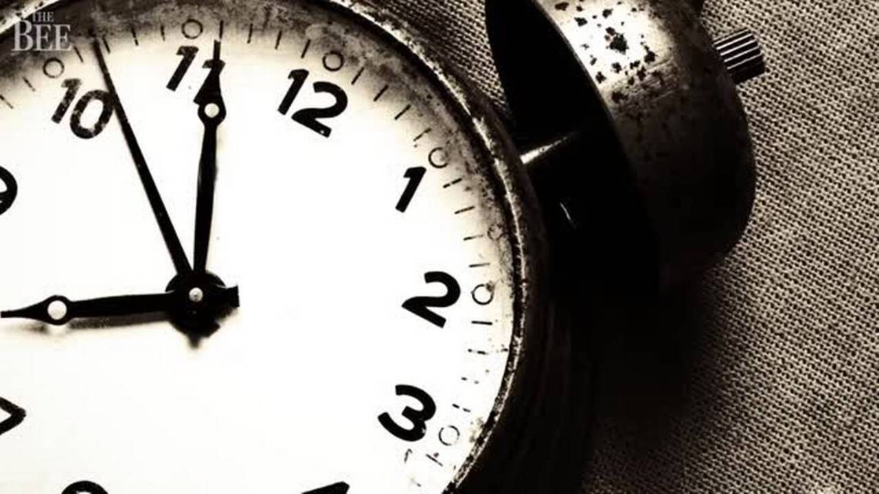 Reminder: Advance your clocks, daylight saving time is here