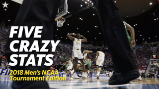 Five Crazy Stats about this year's NCAA Tournament