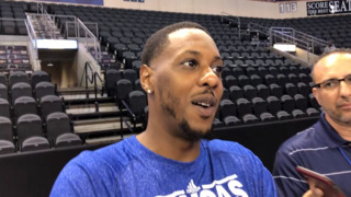 Mario Chalmers talks about KU's rivalry against Missouri