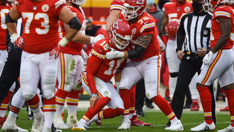 Chiefs' head coach Andy Reid provides an update on Patrick Mahomes' injury