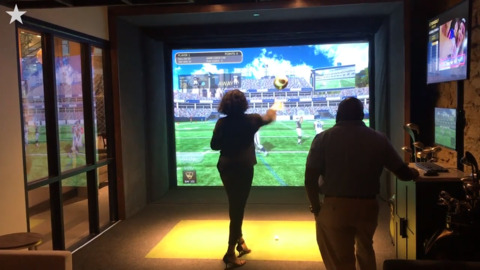 The Clubhouse Experience, an indoor Topgolf and food venue, opens in downtown Kansas City