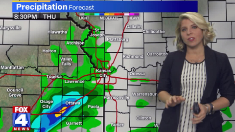 Wintry mix of rain, snow possible as temperatures plummet in Kansas City