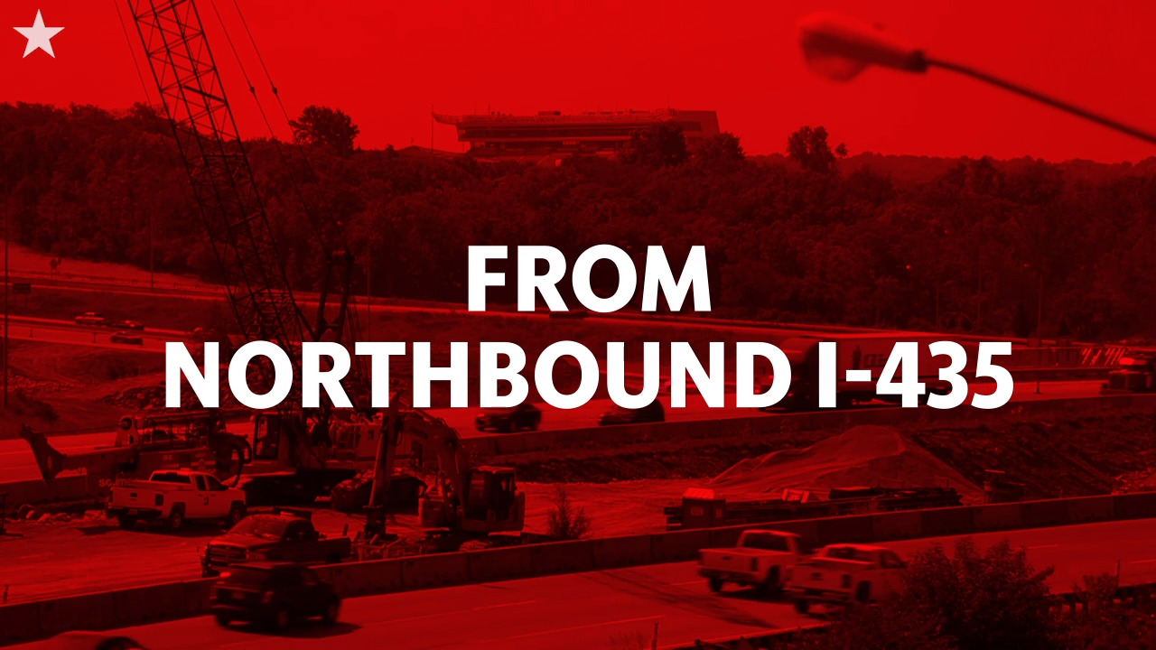 Your detour to Arrowhead: From northbound I-435   Belleville News