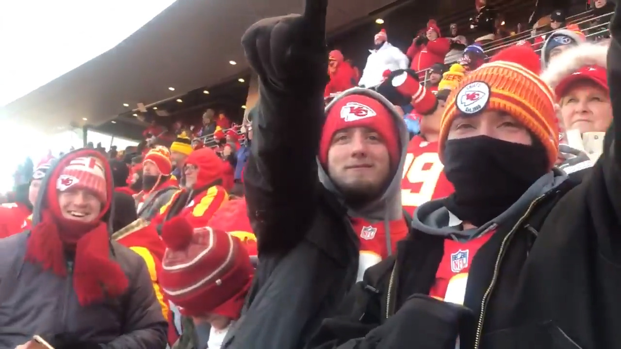 'It's unexplainable': Fans celebrate Kansas City Chiefs heading to Super Bowl