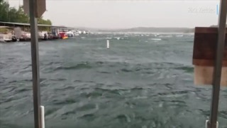 Conditions on Table Rock Lake near the time the 'Ride the Ducks' boat capsized