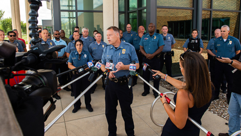 More than two months after he was shot, KCPD officer returns home in 'miracle' recovery