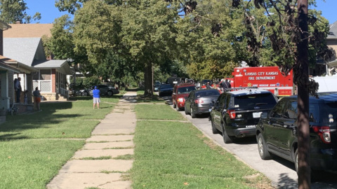 Mass shooting suspect not found after police search 2 homes in Kansas City, Kansas