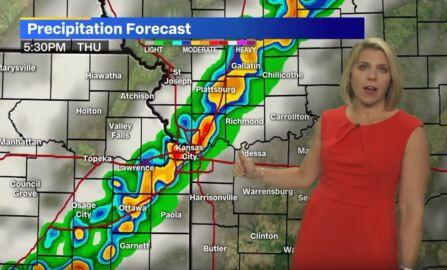 Thunderstorms to arrive in Kansas City area Thursday afternoon