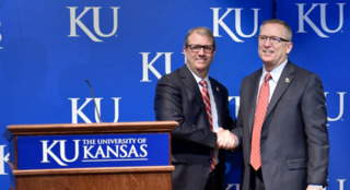 Meet KU's new Athletic Director, Jeff Long and hear his plans for a brighter Jayhawk future