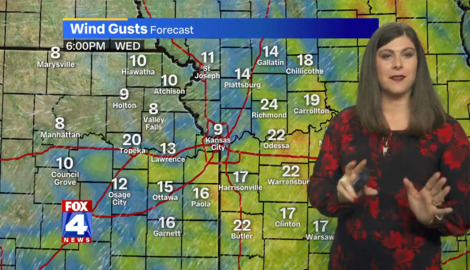 Cold front expected to bring cold rains to Kansas City on Sunday