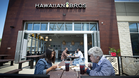Hear customers rave about locally-owned Hawaiian Bros Island Grill