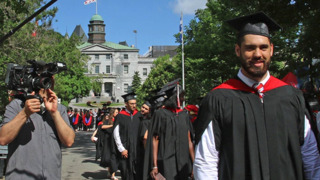 Laurent Duvernay-Tardif receives doctorate in medicine from McGill University