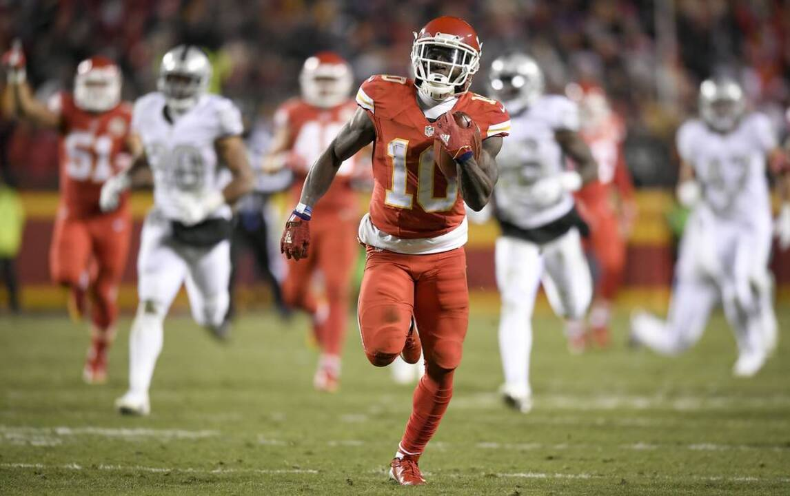 Image result for tyreek hill raiders