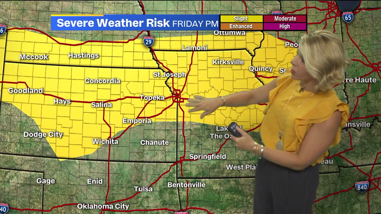Mild, dry conditions to treat KC area Wednesday; strong to severe storms looming