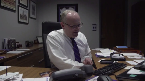 The moment K-State AD Gene Taylor tells Chris Klieman he would be Wildcats next head coach