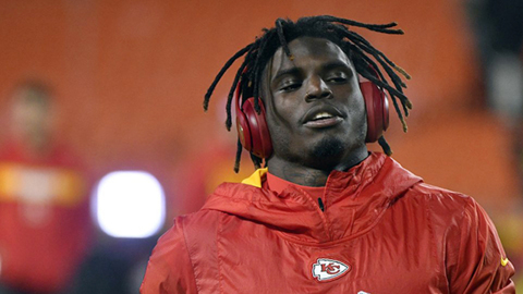 Tyreek Hill's future remains unclear as he participates in Chiefs' offseason program