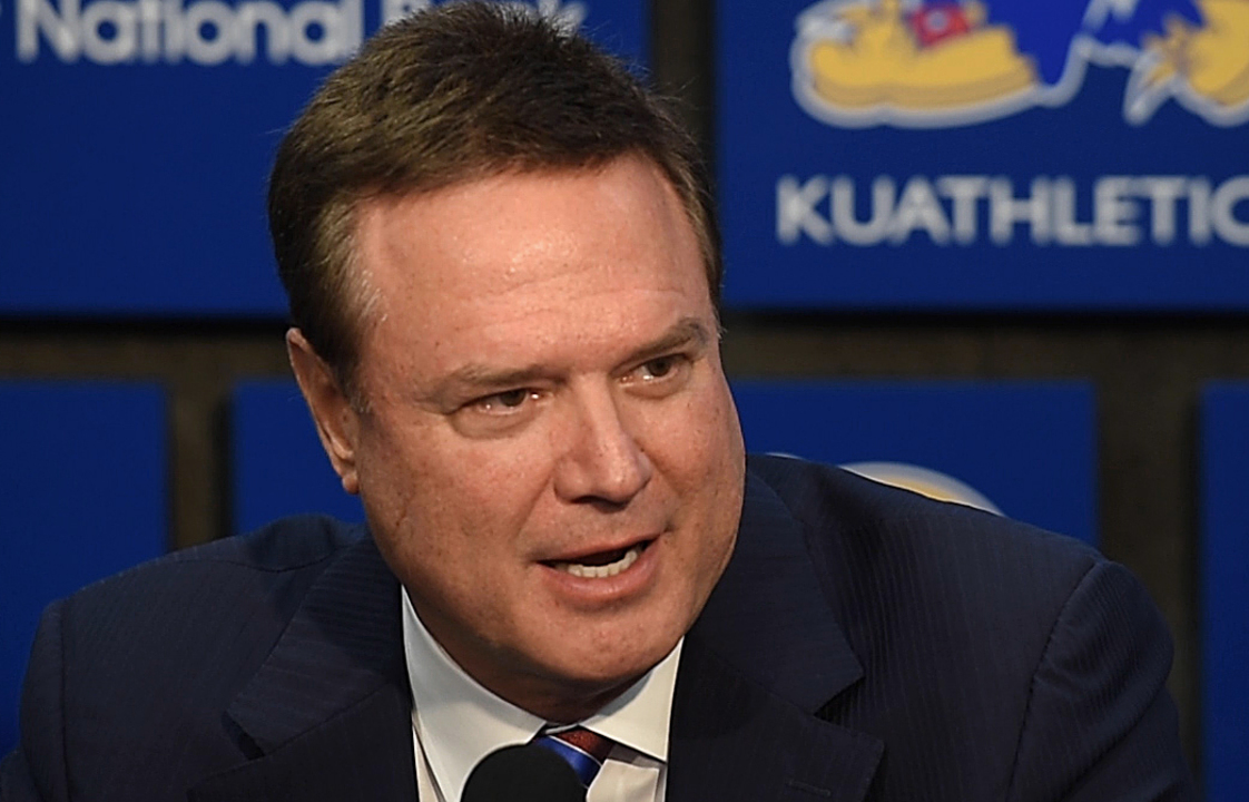 KU coach Self 'up front' about NCAA case, says future Jayhawk Tyon Grant-Foster