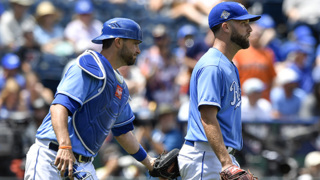 Danny Duffy looking for way to win after 10-2 loss to Astros