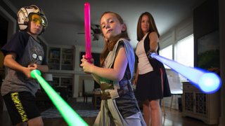 KC mom's family feels the Force of love and courage in 'Star Wars'