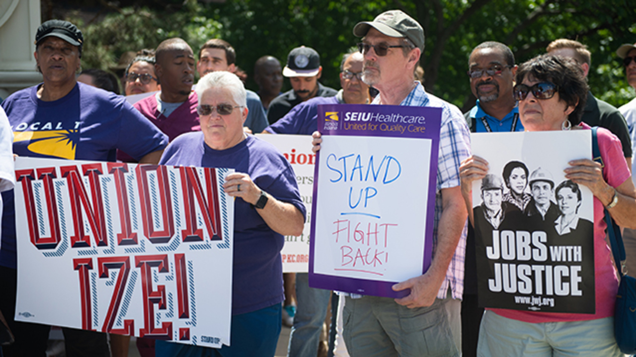Truman Medical Center techs look to unionize, allege intimidation from management