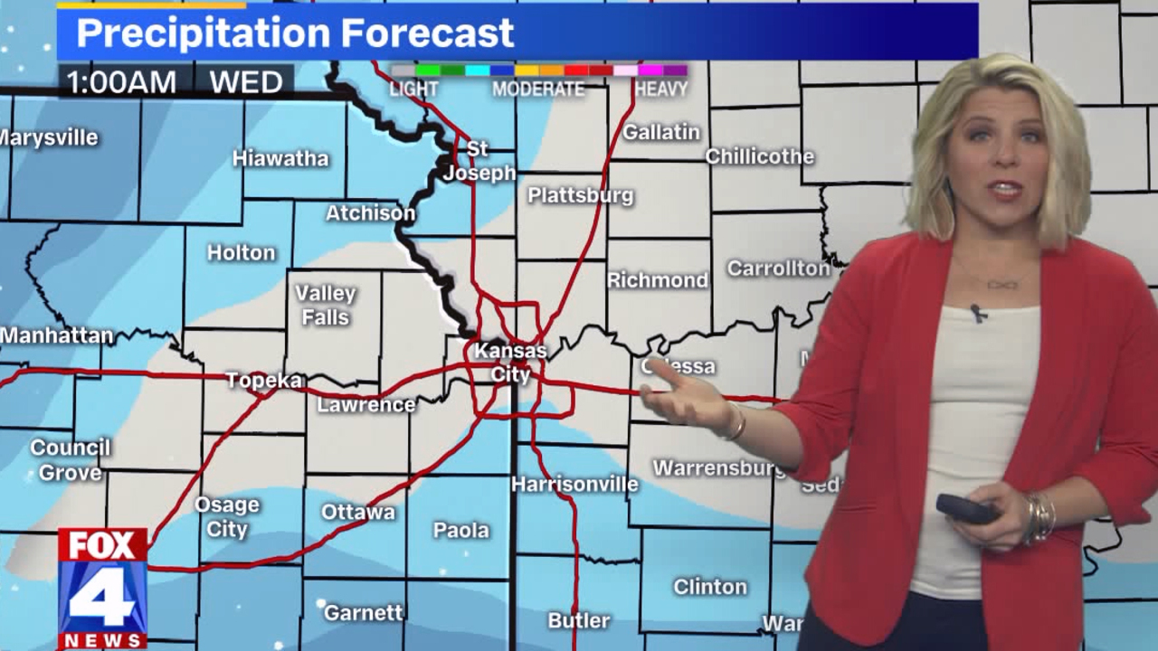 'Snow knocking on our doorsteps' as winter storm system approaches Kansas City