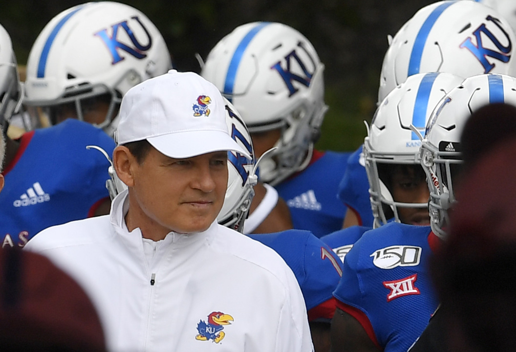 KU football lost Saturday. Here's why the home crowd gave a standing ovation anyway