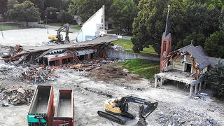 Prairie Village church is razed to make way for a new park