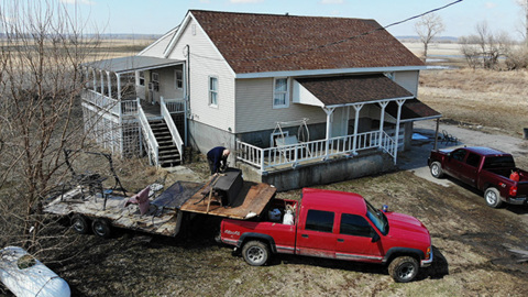 Evacuations ordered as Missouri River overtops levees near Rushville and Winthrop
