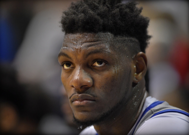 KU's Silvio De Sousa acknowledges 'slow start,' sees better days 'moving forward'