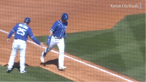 Highlights from February 28 Royals-Rangers spring training game