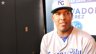Who's Salvador Perez most excited about seeing at the All-Star Game?