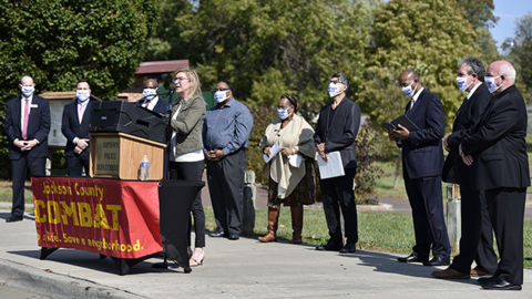 Officials announce Raytown plan to help at-risk youth, solve more business robberies