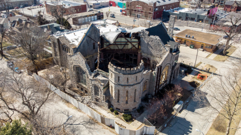 Fate of historic KC church, furniture store up in the air following roof collapse