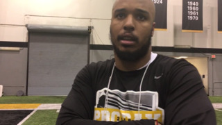 Marcell Frazier on his performance at Mizzou's pro day
